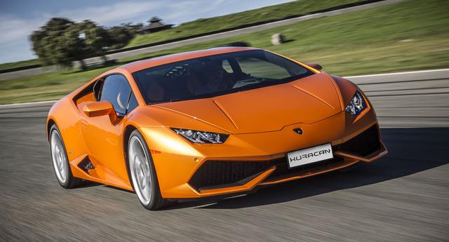 2016 Lamborghini Huracan, Front-quarter view., exterior, manufacturer