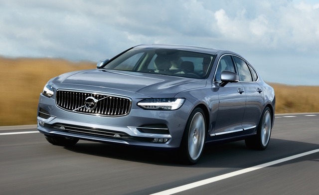 2017 Volvo S90, Front-quarter view., exterior, manufacturer