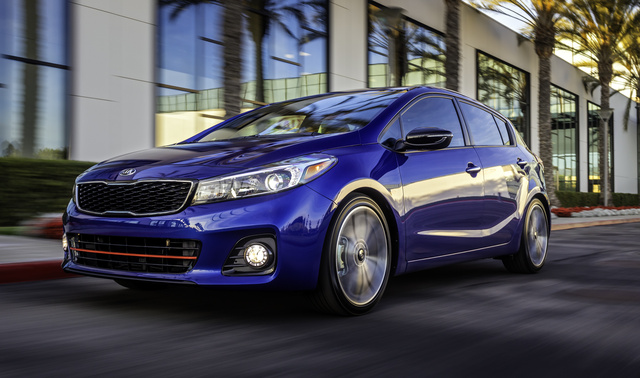 2017 Kia Forte5, Front-quarter view., exterior, manufacturer, gallery_worthy