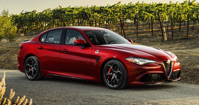 2017 Alfa Romeo Giulia, Front-quarter view., exterior, manufacturer, gallery_worthy