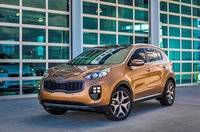 2017 Kia Sportage, Front-quarter view., gallery_worthy