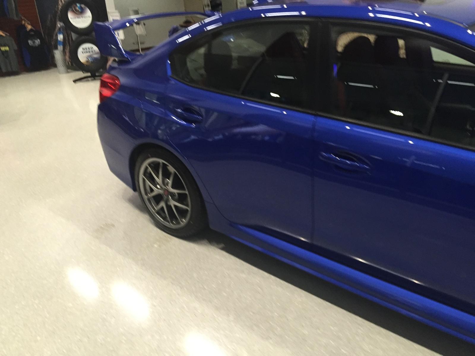Picture of 2016 Subaru Impreza WRX STi