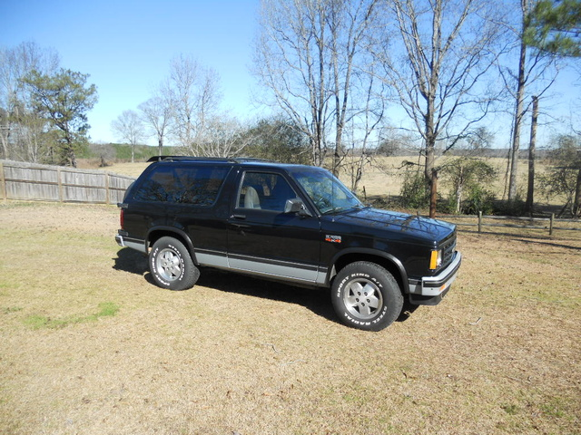Picture of 1989 Chevrolet S-10 Blazer Tahoe 4WD, exterior, gallery_worthy