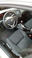 Picture of 2013 Honda Civic Si w/ Summer Tires, interior