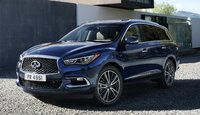 2016 INFINITI QX60, Front-quarter view., exterior, manufacturer, gallery_worthy