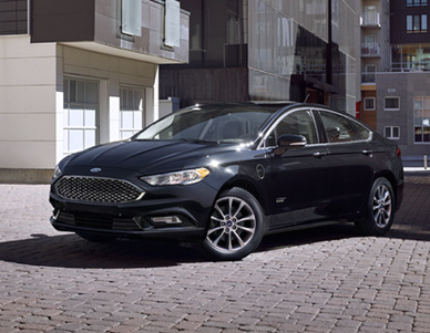 2017 Ford Fusion Energi, Front-quarter view., exterior, manufacturer