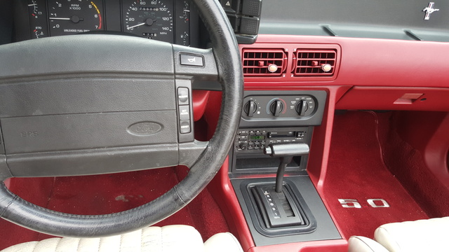 1991 ford mustang interior pictures cargurus picture of 1991 ford mustang gt convertible interior galleryworthy sciox Choice Image