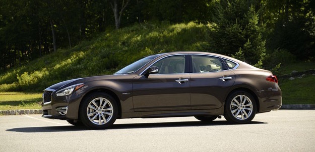 2016 INFINITI Q70 Hybrid, Side view., exterior, manufacturer, gallery_worthy