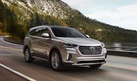 2017 Hyundai Santa Fe, Front-quarter view., exterior, manufacturer, gallery_worthy