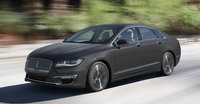 2017 Lincoln MKZ, Front-quarter view., manufacturer