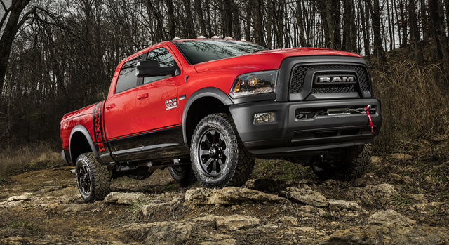 2017 Ram Power Wagon, Front-quarter view., exterior, manufacturer