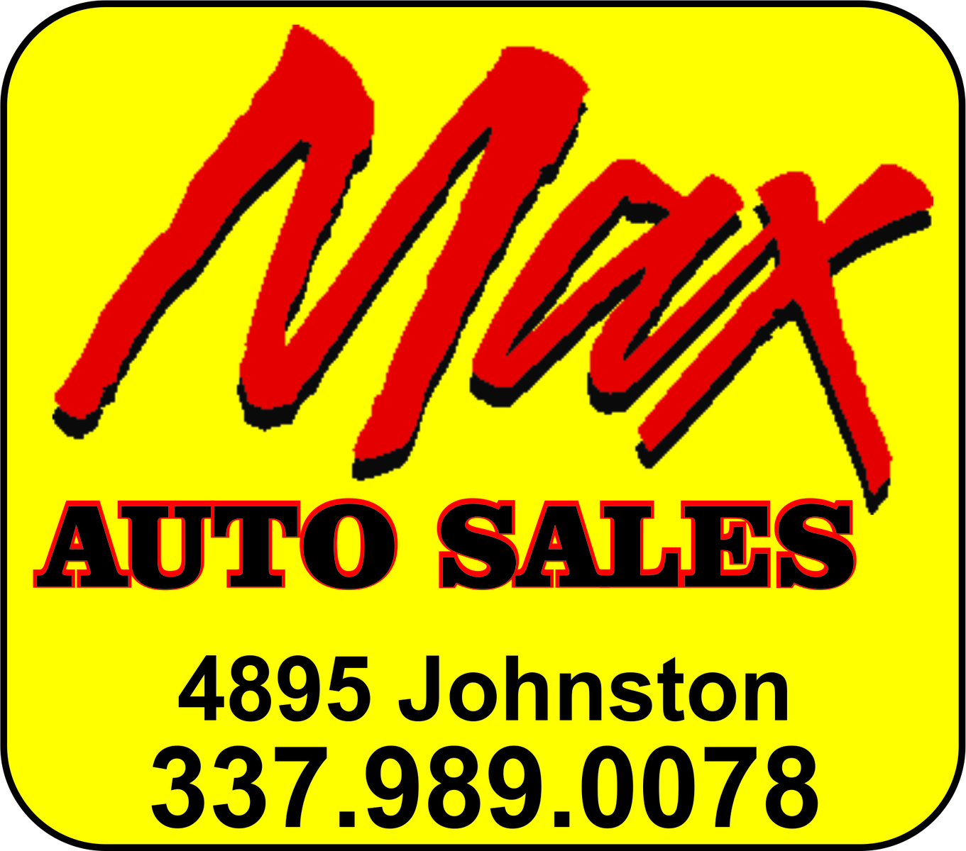 max auto sales lafayette la read consumer reviews browse used and new cars for sale. Black Bedroom Furniture Sets. Home Design Ideas