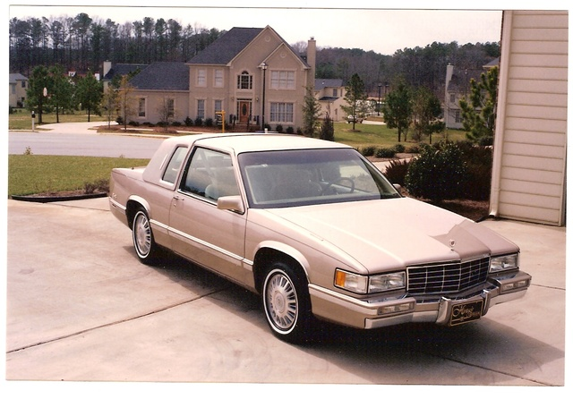 Picture of 1993 Cadillac DeVille Base Coupe, exterior