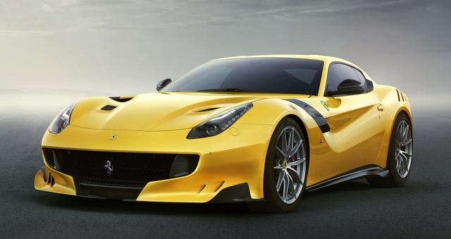 2016 Ferrari F12berlinetta, Front-quarter view., exterior, manufacturer, gallery_worthy