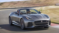 2017 Jaguar F-TYPE, Front-quarter view., exterior, manufacturer, gallery_worthy