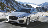 2017 Jaguar XF, Front-quarter view., exterior, manufacturer, gallery_worthy