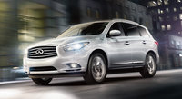 2016 INFINITI QX60 Hybrid, Front-quarter view. Photo of 2014 model shown., exterior, manufacturer, gallery_worthy