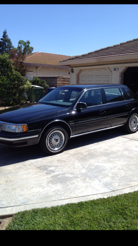 Picture of 1993 Lincoln Continental 4 Dr Signature Sedan, exterior