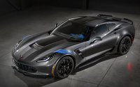 2017 Chevrolet Corvette, Front-quarter view. Copyright General Motors., exterior, manufacturer