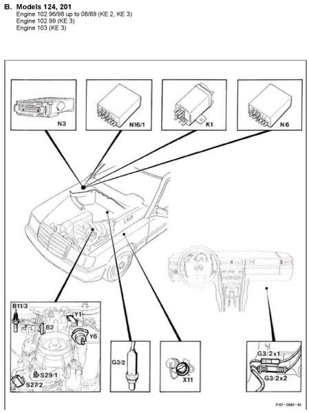 Mercedes Benz Fuel Pump Diagram - Wiring Diagram Completed