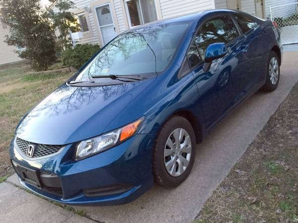 Picture of 2012 Honda Civic Coupe LX, exterior, gallery_worthy