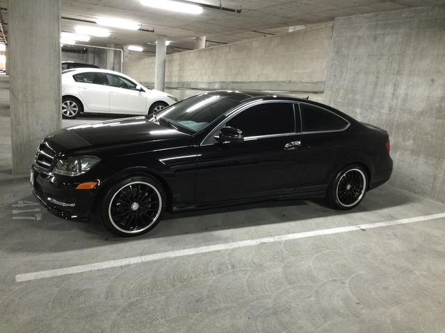 picture of 2014 mercedes benz c class c 250 coupe exterior. Cars Review. Best American Auto & Cars Review