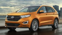 2016 Ford Edge, Front-quarter view, exterior, manufacturer, gallery_worthy