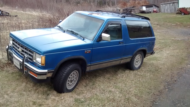 Picture of 1990 Chevrolet S-10 Blazer Tahoe 4WD SUV