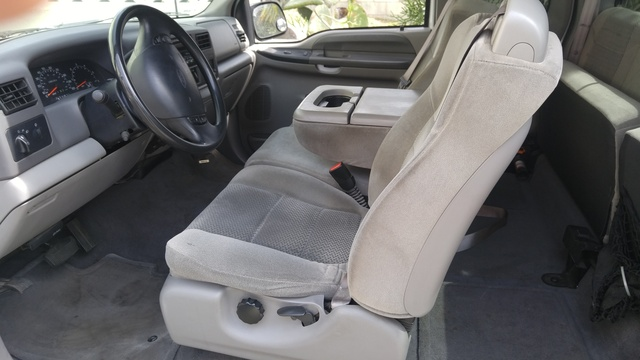 Picture of 2001 Ford F-250 Super Duty XLT Extended Cab SB, interior