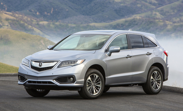 2017 Acura RDX, Front-quarter view., exterior, manufacturer, gallery_worthy