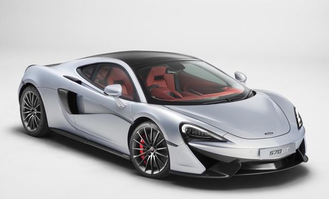 2017 McLaren 570GT, Front-quarter view., exterior, manufacturer