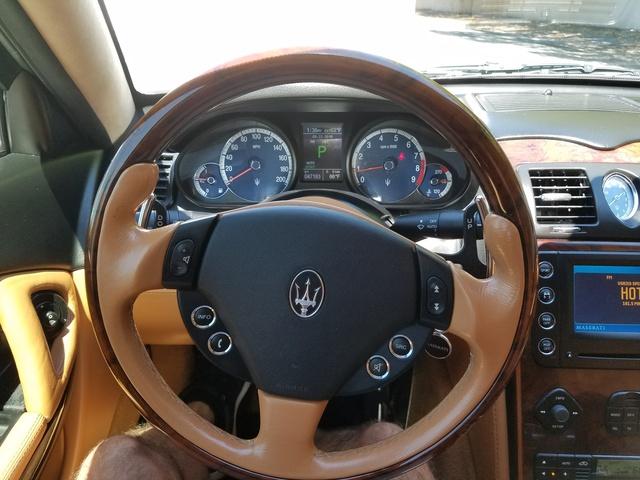 2008 maserati quattroporte interior pictures cargurus for Maserati granturismo s interieur