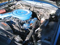 1972 Lincoln Continental, Motor