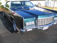 1972 Lincoln Continental, Front