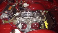 Picture of 1971 Triumph TR6, engine