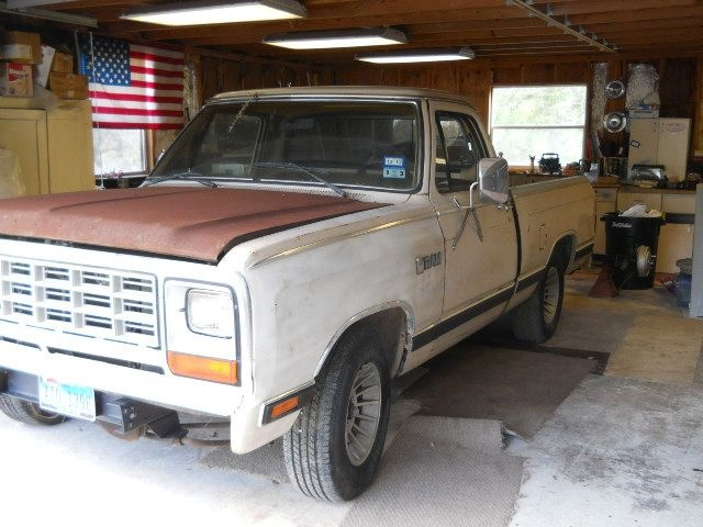Dodge RAM 150 Questions - WHAT doors will interchange with my 1983