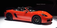2017 Porsche 718 Boxster, Front-quarter view., exterior, gallery_worthy