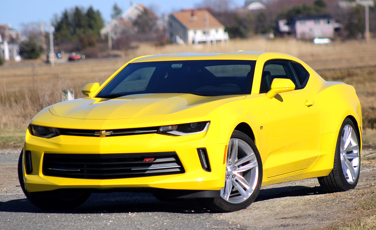 Exterior of the 2016 Chevrolet Camaro