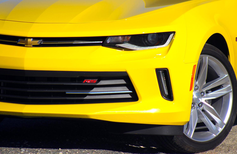 Exterior of the 2016 Chevrolet Camaro