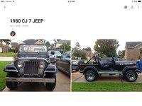 1980 Jeep CJ7 Picture Gallery