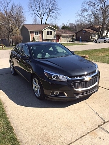 review malibu chevrolet front