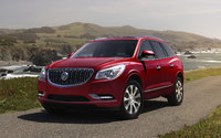2017 Buick Enclave, Front-quarter view. Copyright General Motors., exterior, manufacturer