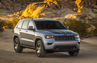2017 Jeep Grand Cherokee, Front-quarter view., exterior, manufacturer, gallery_worthy