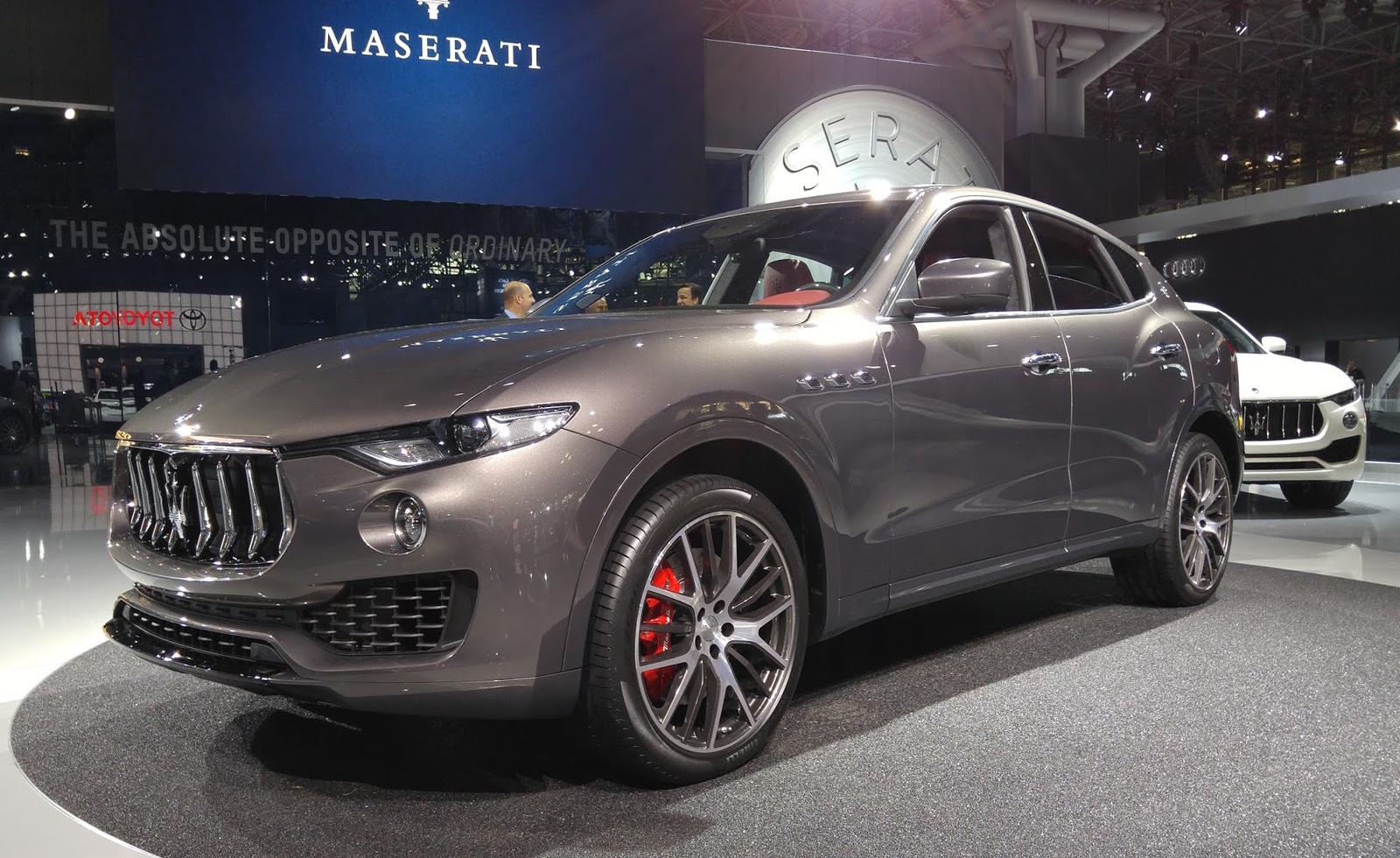 From the Levantes debut at the 2016 New York International Auto Show