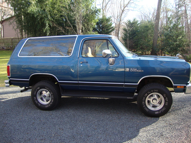 1989 Dodge Ramcharger Overview Cargurus