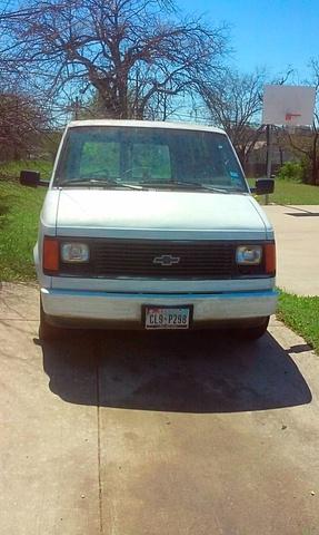 Chevrolet Astro Cargo Van Std Cargo Van Pic X