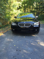 2007 BMW 5 Series 530xi, look at the glow on the freshly waxed car!, exterior