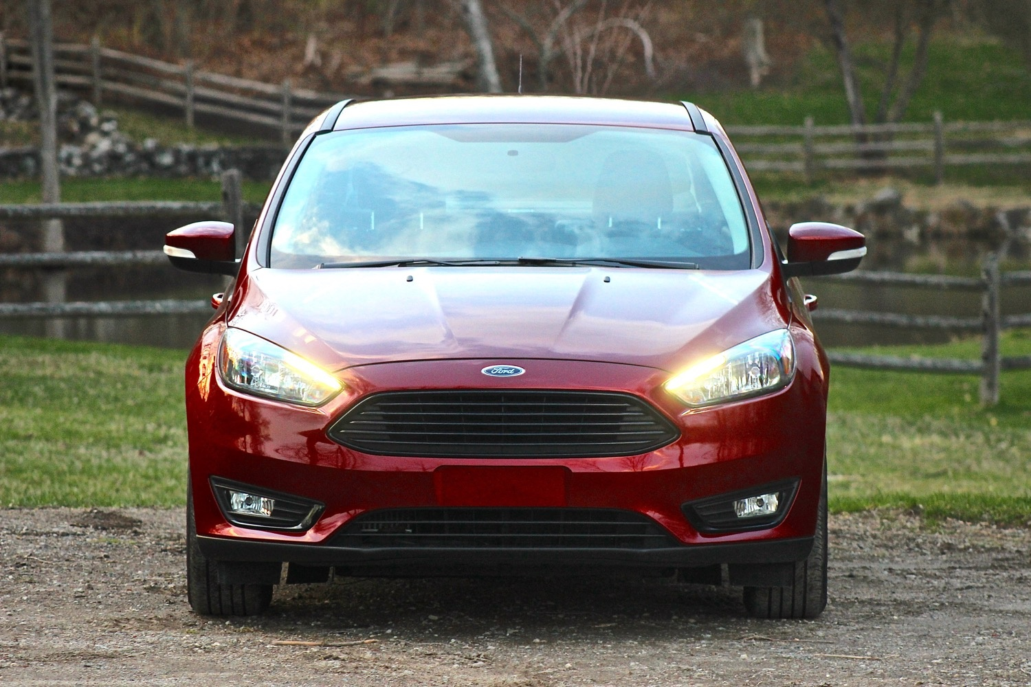 Exterior of the 2016 Ford Focus