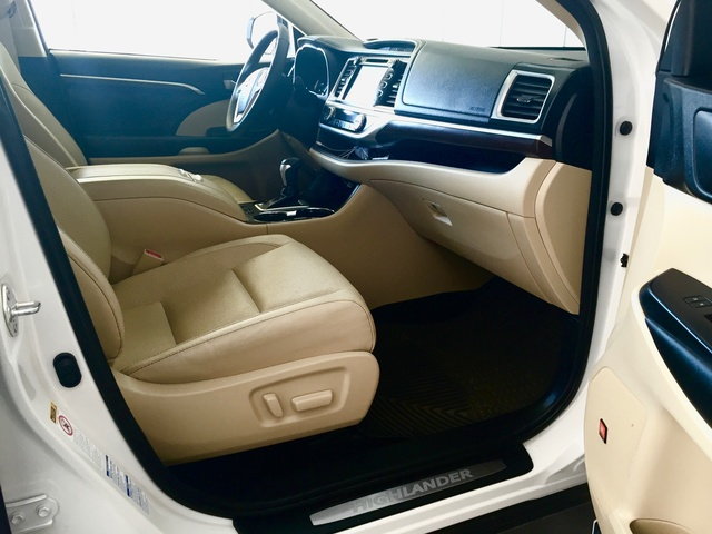 2015 toyota highlander hybrid pictures cargurus Toyota highlander limited platinum interior