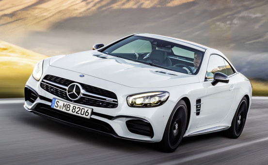 2017 Mercedes-Benz SL-Class, Front-quarter view, exterior, manufacturer, gallery_worthy
